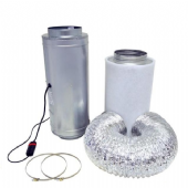 Air Force 2 Isomax Acoustic Silencer Fan & PK Carbon Filter Kits